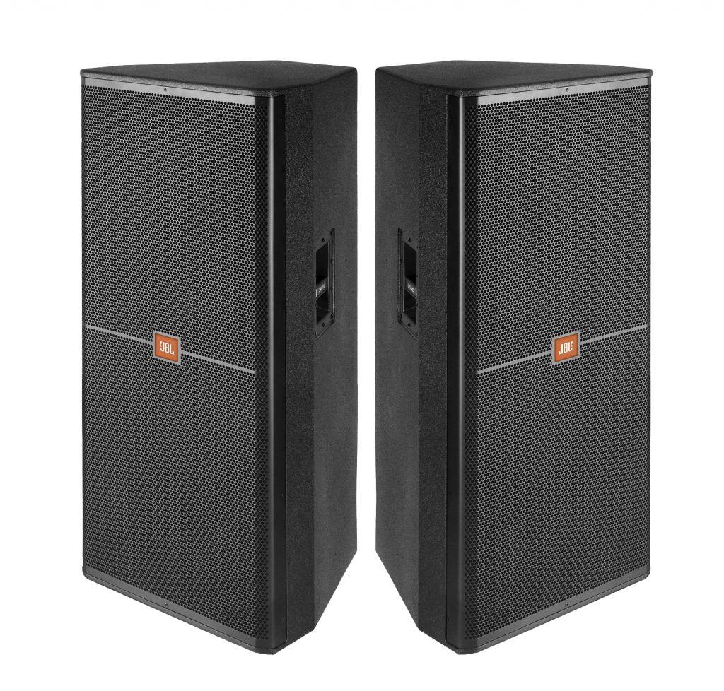 Loa Full JBL 725 Dải tần số (-10 dB): 37 Hz - 20 kHz. Đáp ứng tần số (± 3 dB): 53 Hz - 20 kHz. Độ che phủ: 75 ° x 50 °. Kết nối chéo: Bi-amp / thụ động, có thể chuyển đổi. Tần số chéo: 1,2 kHz. Công suất thụ động: 1200 W / 2400 W / 4800 W. Bi-amp LF: 1200 W / 2400 W / 4800 W Bi-amp HF: 75 W / 150 W / 300 W Áp suất âm thanh tối đa: 136 dB SPL. Độ nhạy hệ thống (1w @ 1m): 99 dB SPL (chế độ thụ động) Loa LF: 2 loa trầm JBL 2265H 380 mm (15 in) với nam châm neodymium và cuộn dây kép 'Trở kháng: 4 ohms (thụ động). Bi-amp LF: 4 ohms. Bi-amp HF: 8 ohms. Thích nghi: dbx DriveRack và tất cả các mô hình. Vỏ bọc: Ván ép bạch dương, 15 mm, 11 lớp. Tay cầm: 2 tay cầm bằng thép. Vật liệu: Đen DuraFlex hoàn thiện. Lưới bảo vệ: Sơn tĩnh điện, màu đen. Logo JBL có thể tháo rời và logo JBL đục lỗ. Đầu nối: Neutrik® speakon® NL-4 (x2). Kích thước (H x W x D): 1219 mm x 541 mm x 508 mm. Trọng lượng: 45 kg (100 lb).