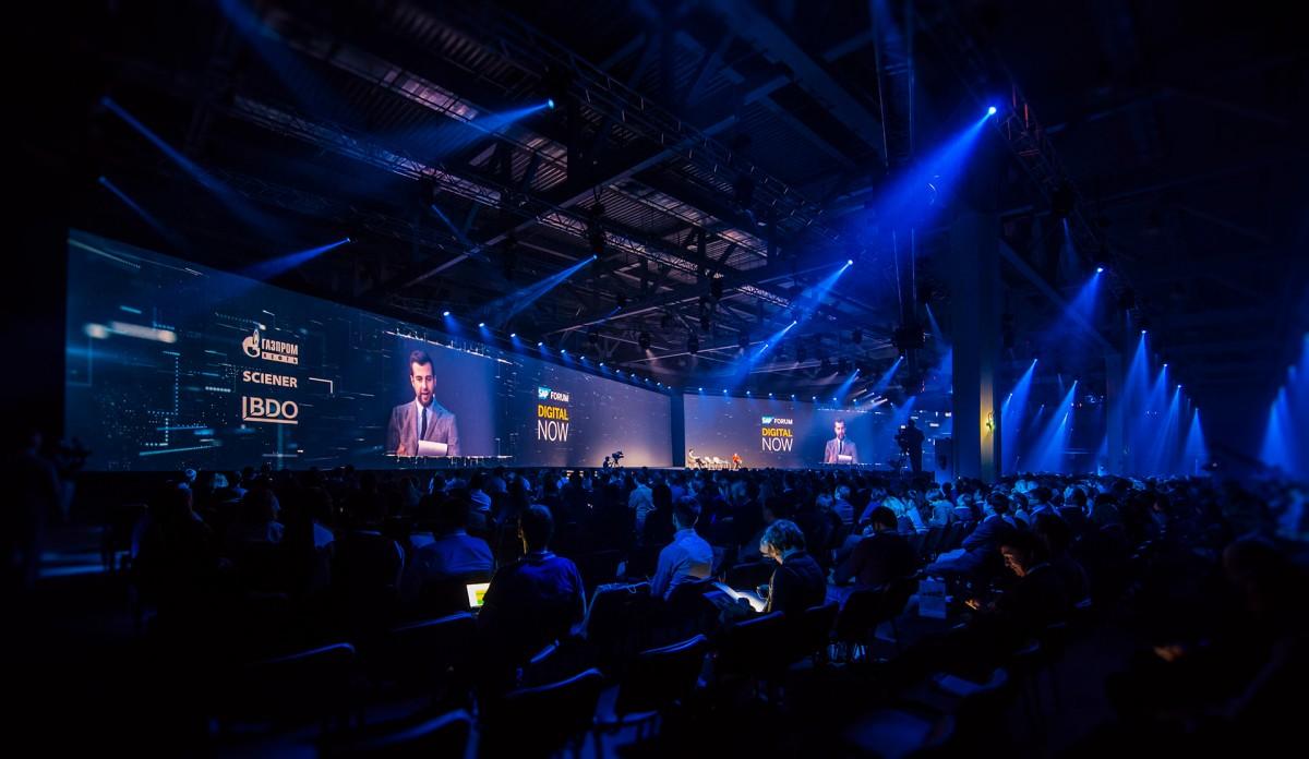 Backdrop cho sự kiện SAP Forum 2017