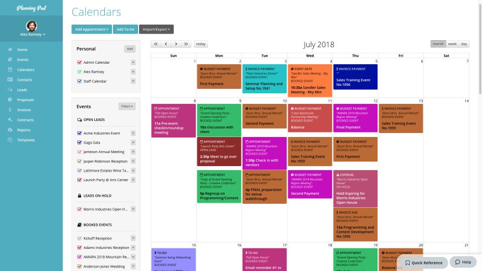 Quản lý sự kiện đơn giản hơn nhờ Planning Pod