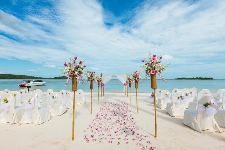 tiệc cưới bãi biển Đà Nẵng