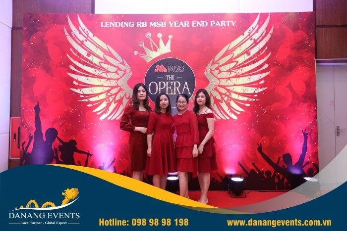 Sở hữu backdrop sinh nhật công ty sang trọng, đẳng cấp - nhanh chóng, giá tốt với Danang Events