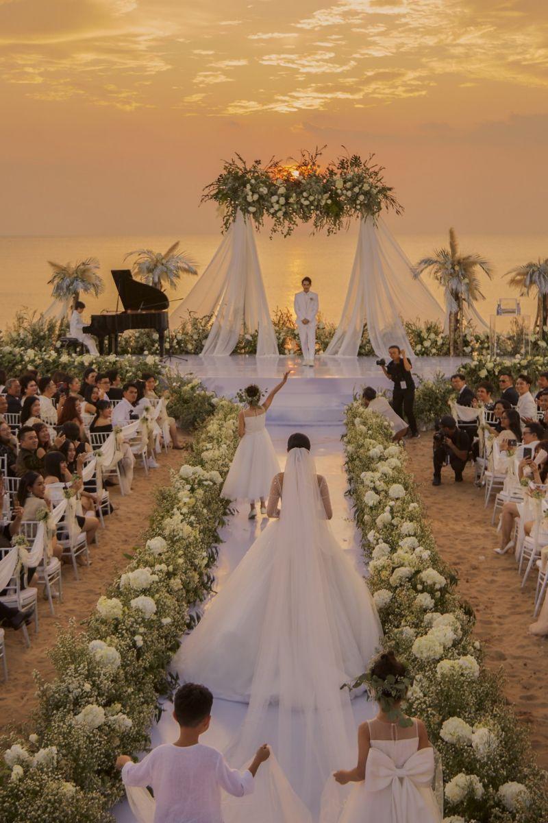 Phong cách của tiệc cưới cũng là vấn đề rất được lưu tâm