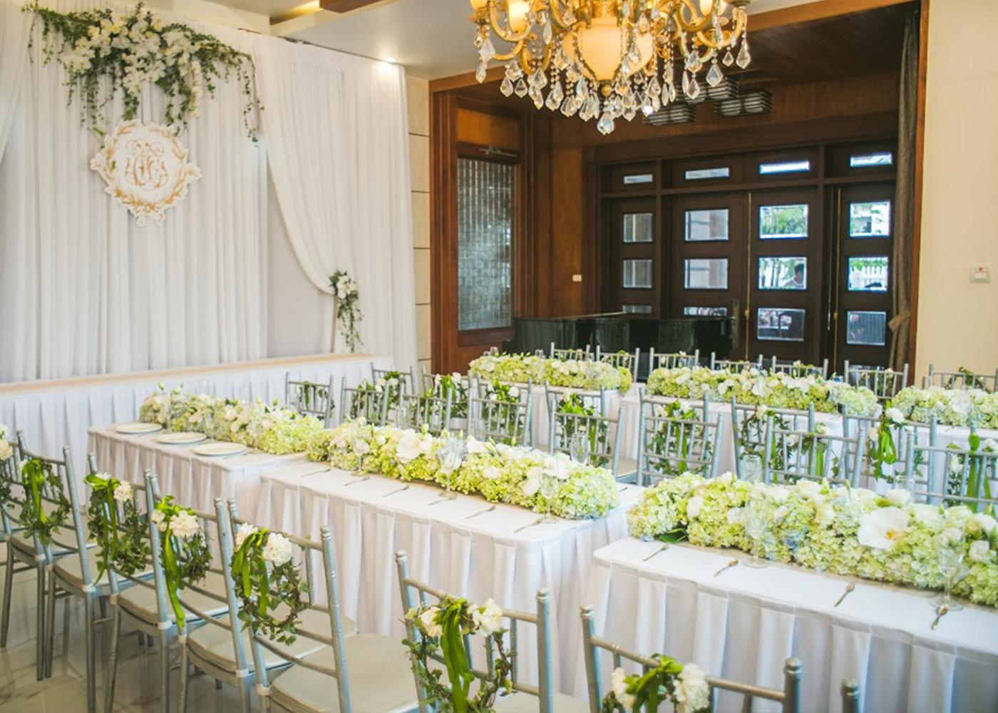 Tiện chủ, tiện khách chẳng cần đi xa với dịch vụ tiệc cưới tại nhà
