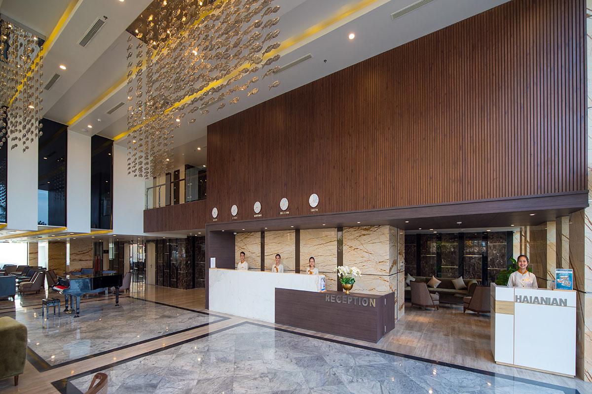 HAIAN Beach Hotel & Spa địa điểm tổ chức gala dinner mang không gian hiện đại