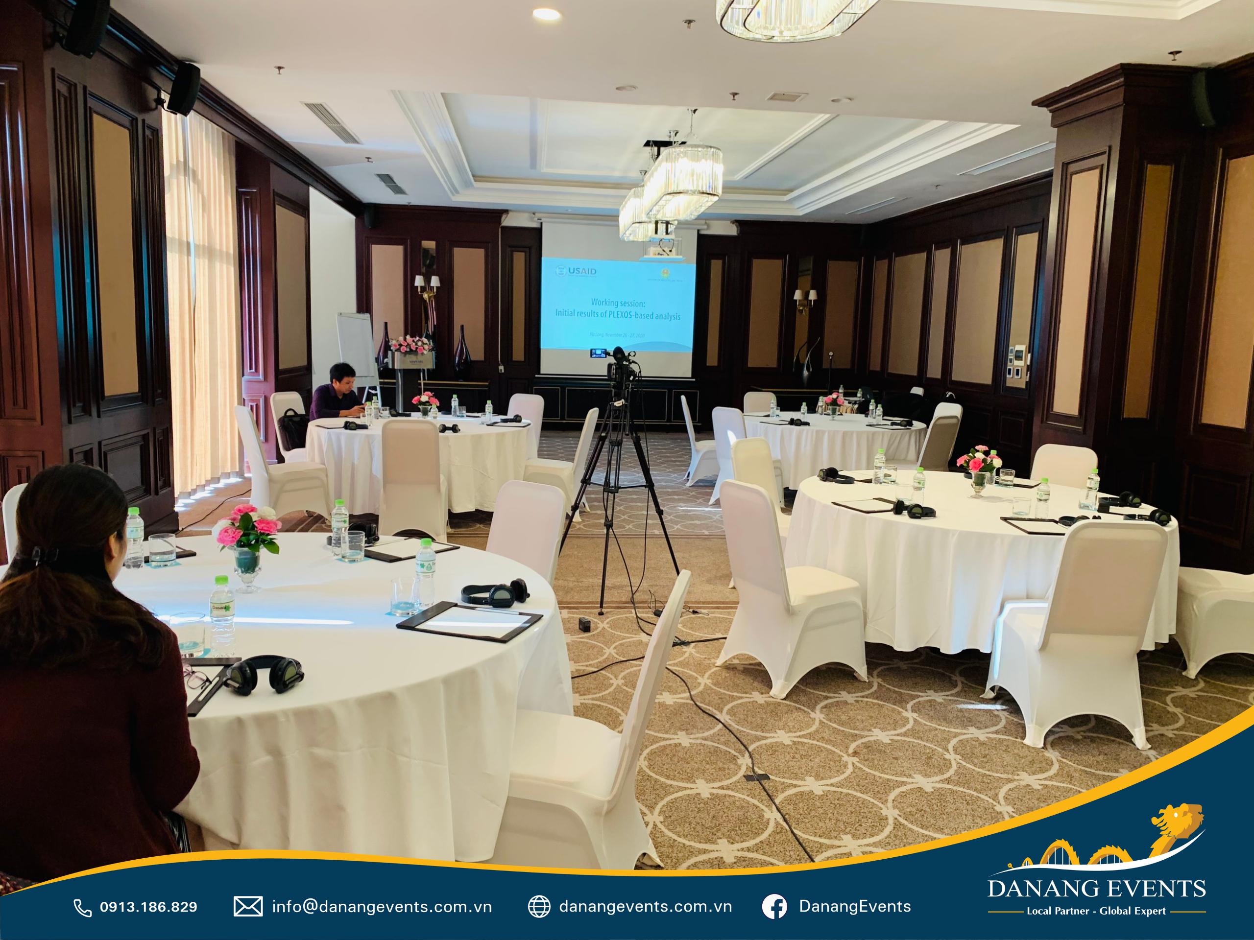 Danang Events - Đơn vị tổ chức hội nghị trực tuyến chuyên nghiệp