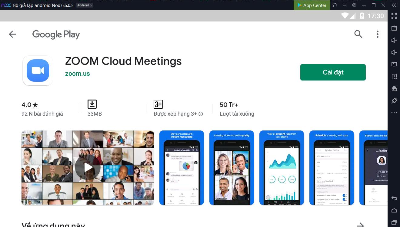 Zoom - một trong những ứng dụng nổi tiếng cho việc họp trực tuyến