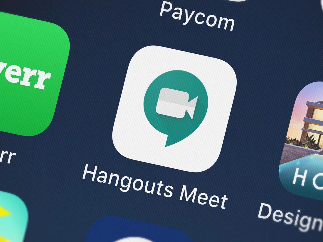 Google hangouts - hỗ trợ tạo nhóm lên đến 150 người