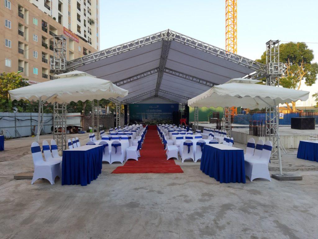 Danang Events - Chuyên cung cấp dịch vụ cho thuê nhà bạt chất lượng, giá tốt