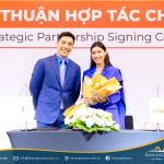 Lễ ký kết hợp tác Alphanam Group