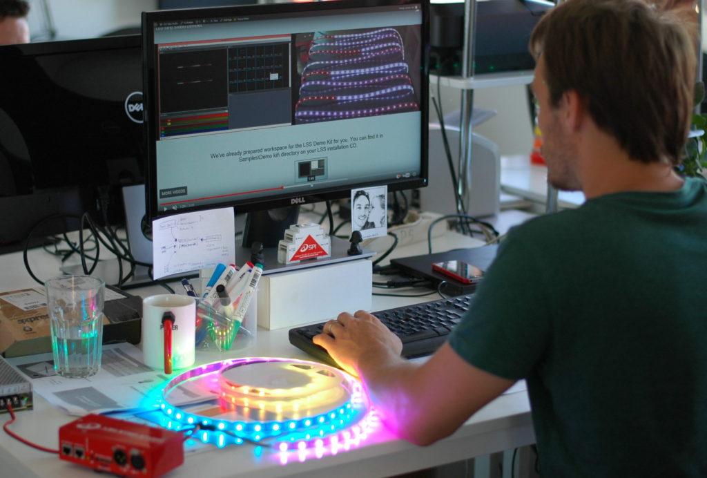 phần mềm  LED Strip Studio