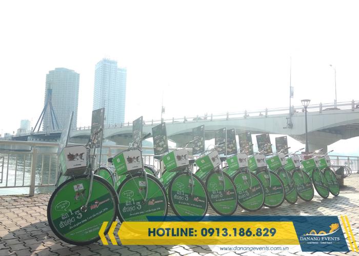 Danang Events - giáp pháp đơn giản cho roadshow xe đạp thành công rực rỡ