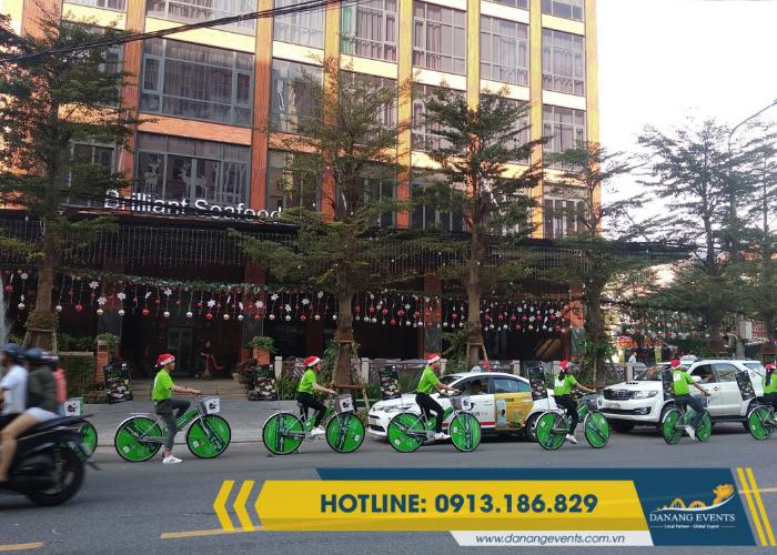 Roadshow xe đạp là một loại hình sự kiện quảng cáo truyền thông phổ biến