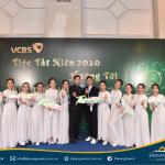 Tiệc tất niên Vietcombank
