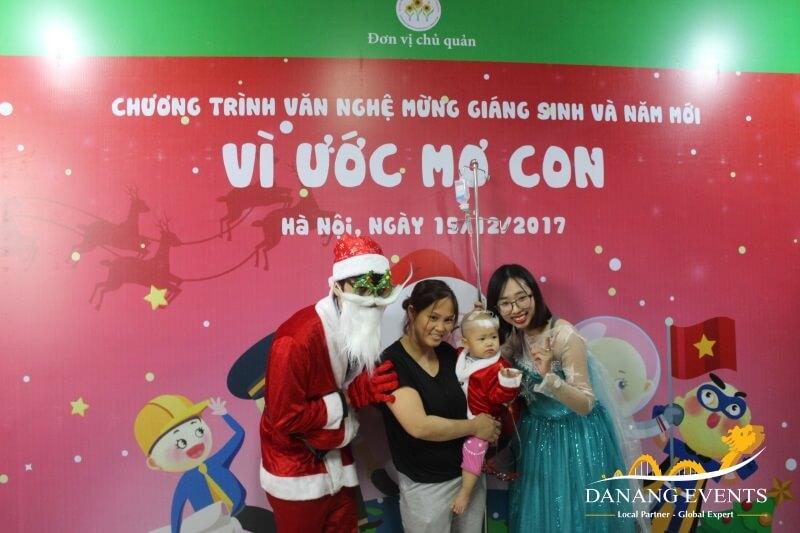 Giáng sinh ý nghĩa với những hoạt động thiện nguyện.