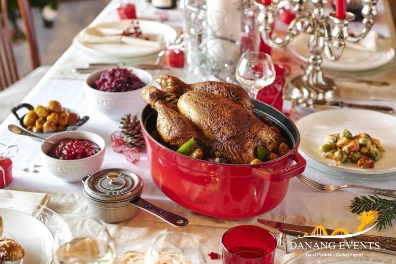 Những món ăn ngày lễ Giáng sinh.