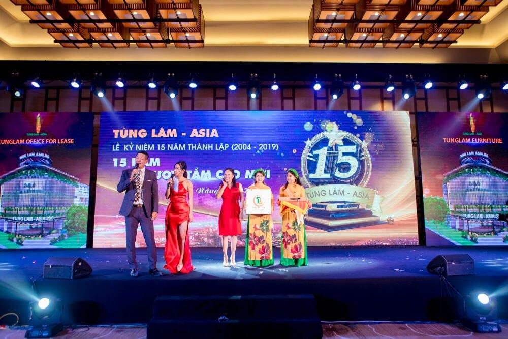 Lễ kỷ niệm 15 năm thành lập Tùng Lâm - Asia