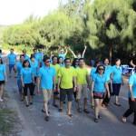 Tổ chức Gala Dinner kết hợp Team Building - Phòng Quản trị Vietcombank