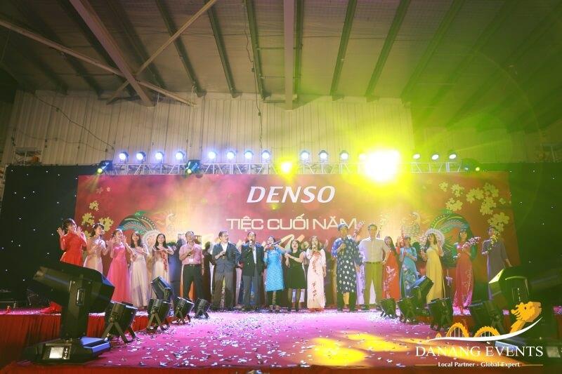 Bữa tiệc cuối năm của DENSO do Danang Events tổ chức.