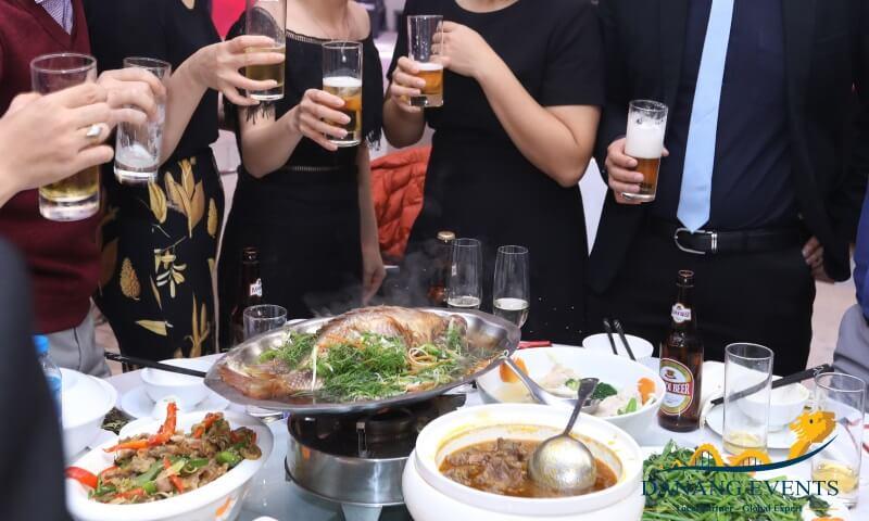 Gợi ý cách xây dựng thực đơn cho bữa tiệc tất niên công ty