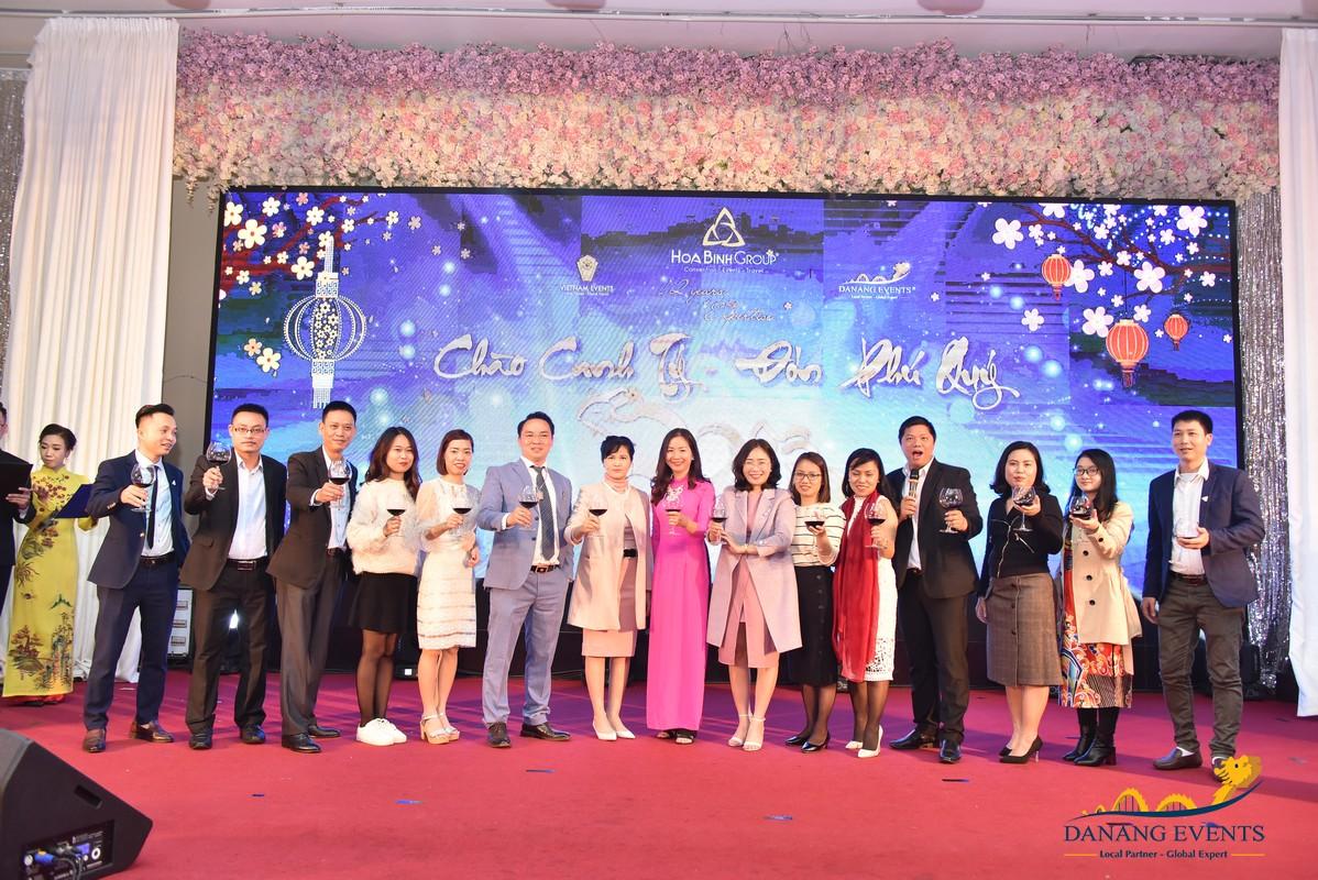 Tiệc tất niên 2020 - HoaBinh Group