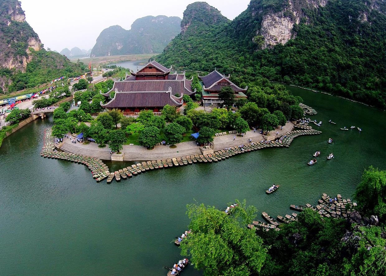 Tour Chùa Bái Đính - Khu du lịch sinh thái Tràng An (1 Ngày)
