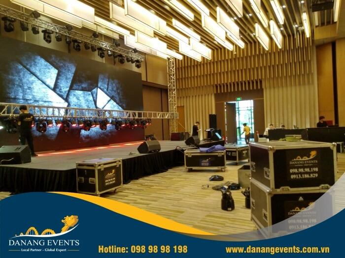 cho thuê thiết bị sự kiện âm thanh ánh sáng sân khấu tại Đà Nẵng